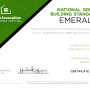 NGBS - EMERALD STATUS CERTIFICATION